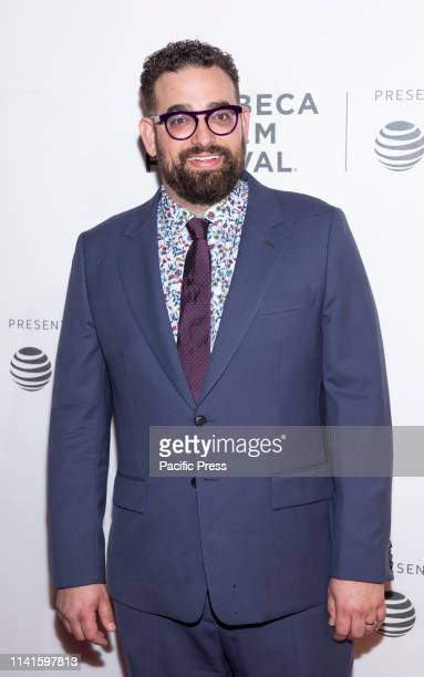 Michael Simkin attends Extremely Wicked Shockingly Evil And Vile during 2019 Tribeca Film Festival at The Stella Artois Theatre Manhattan