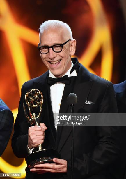 Michael Slade accepts the Outstanding Digital Daytime Drama Series award onstage at the 46th annual Daytime Emmy Awards at Pasadena Civic Center on...