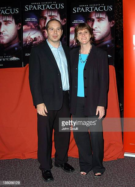 Michael Sluchan and Laurette Hayden srvp of movies and miniseries for USA Networks