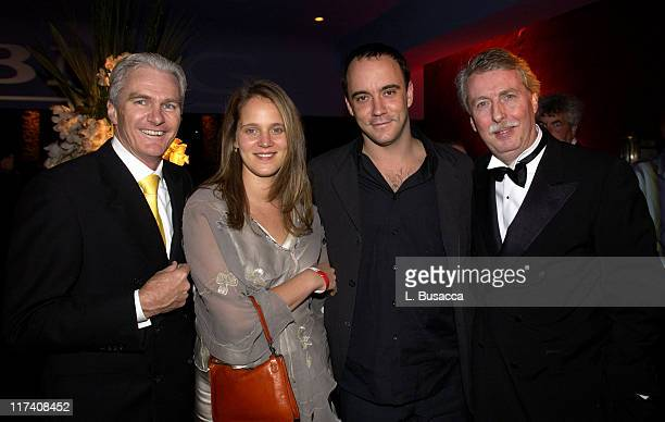 Michael Smellie COO BMG Dave Matthews and wife Ashley Matthews and Rolf SchmidtHolz BMG Chairman and CEO