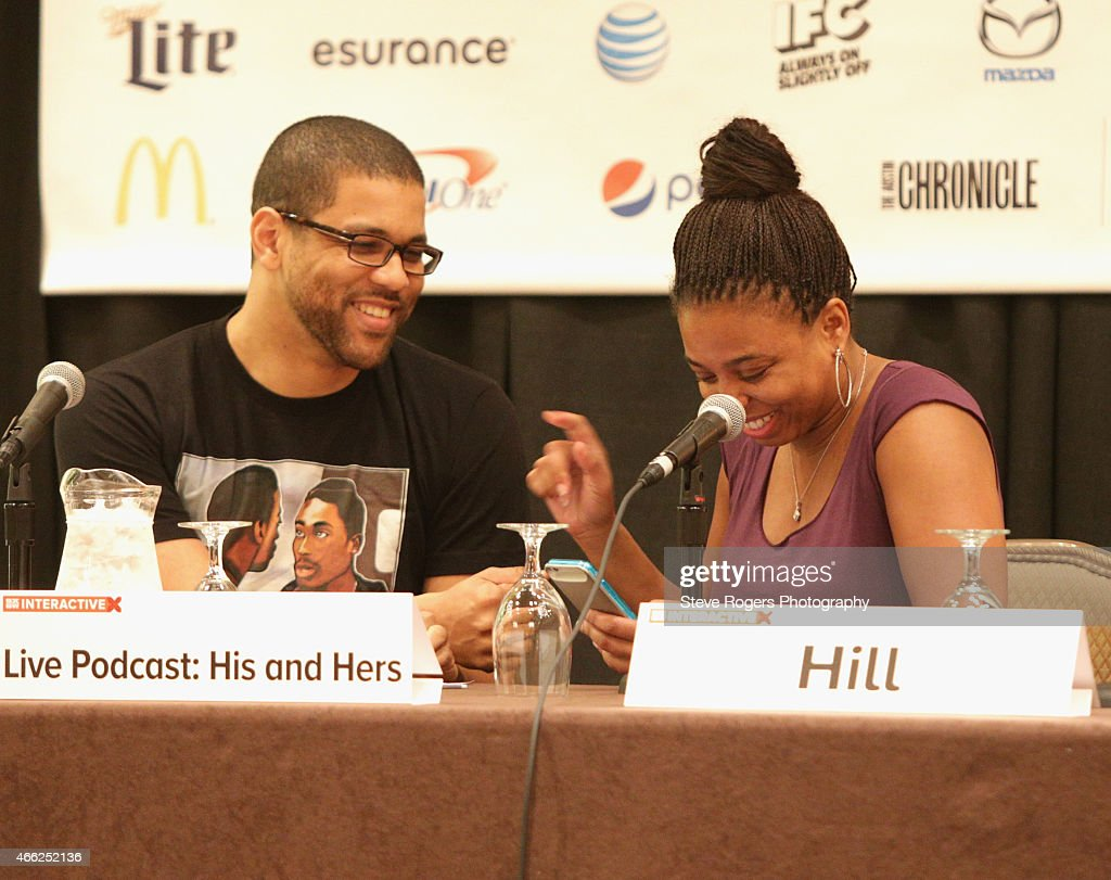 Live Podcast: His And Hers - 2015 SXSW Music, Film + Interactive Festival : News Photo