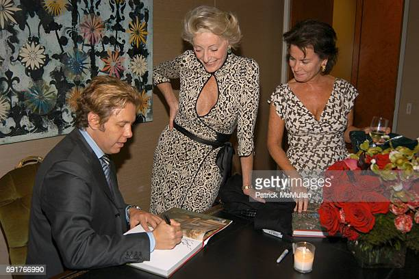 Michael Smith Ariane Dandois and Eleanor Maerkle attend Cindy Crawford Wendi Murdoch and Lynn de Rothschild and the Officers and Directors of...