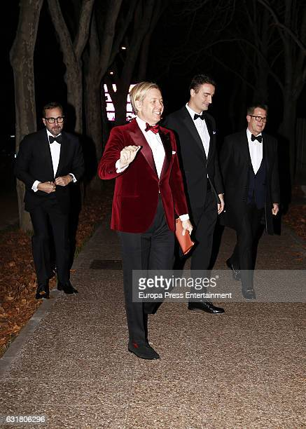 Michael Smith attends the 54th birthday party of the USA Ambassador James Costos at Museo del Traje on January 14, 2017 in Madrid, Spain.