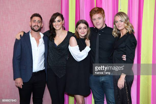 Michael Socha Kelly Wenham Georgia Groome Danny Morgan and Cressida Bonas attend the UK premiere of 'Double Date' at The Soho Hotel on October 10...