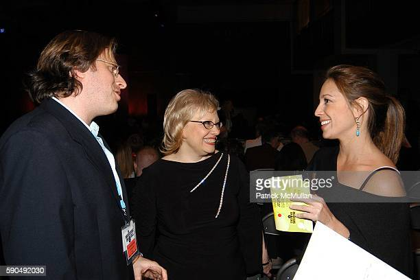 Michael Solomon Dr Leslie Morrison Faerstein and Lauren Glassberg attend Musicians On Call Benefit Guitar Auction at Sotheby's on January 31 2005 in...