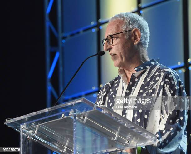 Michael Solomon speaks onstage during the Music Biz 2018 Awards Luncheon for the Music Business Association on May 17 2018 in Nashville Tennessee