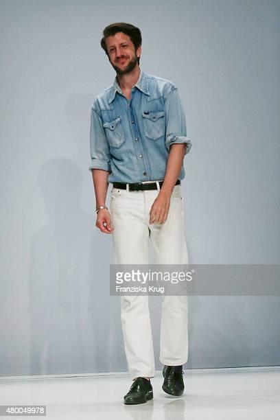 Michael Sontag attendss the Lavera Showfloor At MercedesBenz Fashion Week Berlin Spring/Summer 2016 on July 09 2015 in Berlin Germany