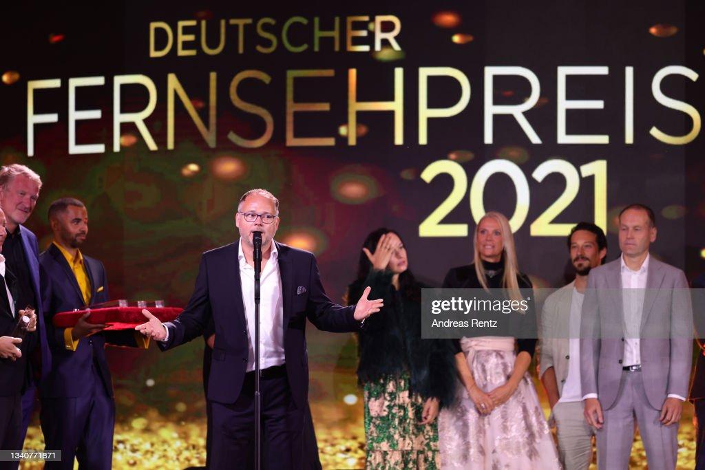 Deutscher Fernsehpreis 2021 : Nachrichtenfoto