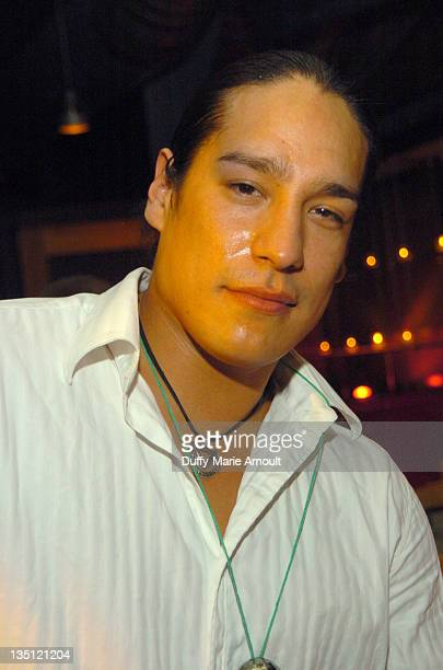 Michael Spears during 2006 Sundance Film Festival Native Forum Party at Legacy Lounge in Park City Utah United States