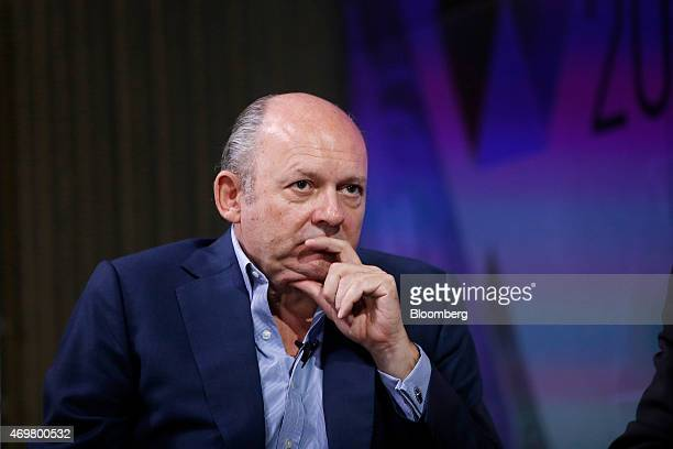 Michael Spencer chief executive officer of ICAP Plc pauses during a Bloomberg Television UK General Election 'City' debate in London UK on Wednesday...