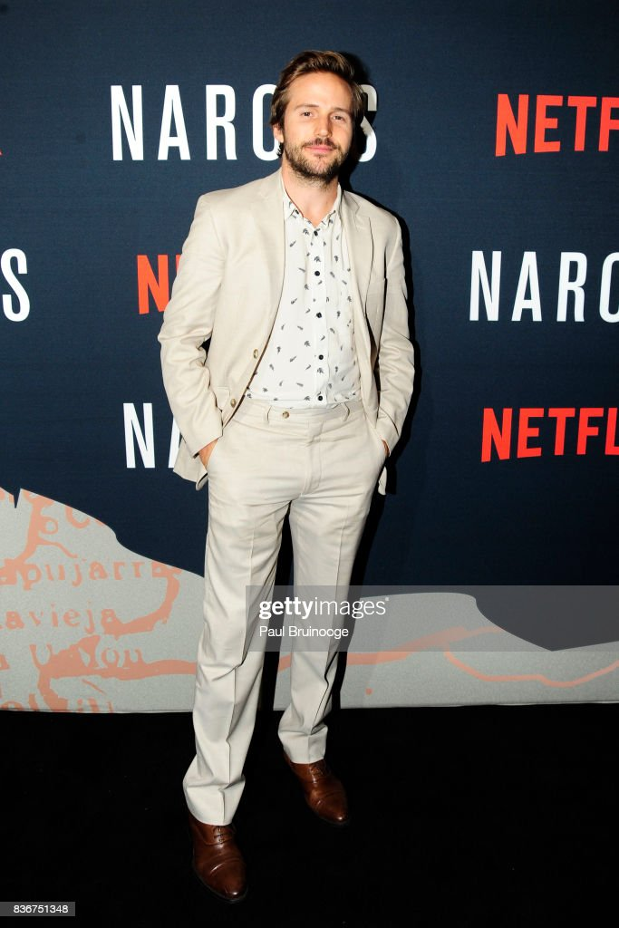 Michael Stahl-David attends 'Narcos' Season 3 New York Screening - Arrivals at AMC Lincoln Square 13 Theater on August 21, 2017 in New York City.