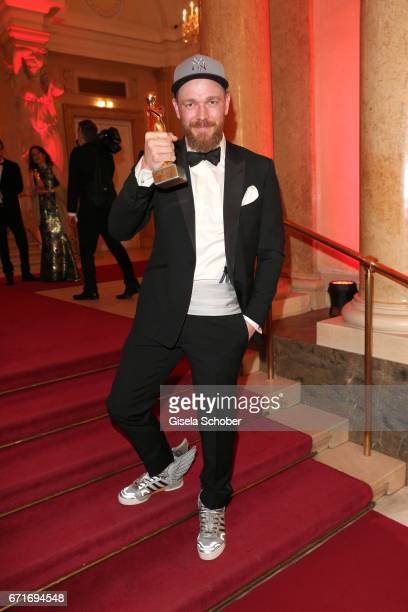 Michael Starkl with Romy academy award during the ROMY award at Hofburg Vienna on April 22 2017 in Vienna Austria