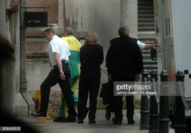 Michael Steele arrives at the Royal Courts of Justice in central London Wednesday February 22 2006 Mr Steele and another man Jack Whomes are...