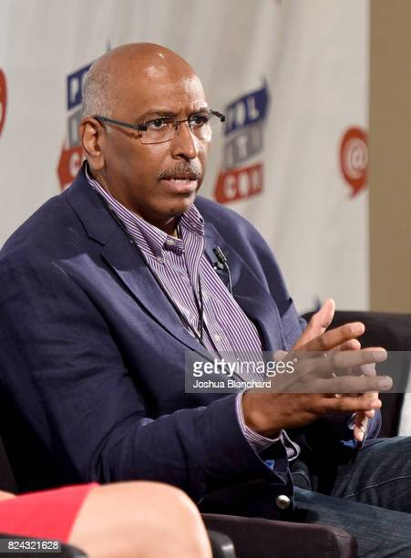 Michael Steele at 'The Obama Legacy' panel during Politicon at Pasadena Convention Center on July 29 2017 in Pasadena California