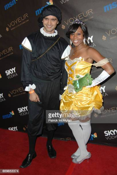 Michael Steger and Brandee Tucker attend HEIDI KLUM'S 10TH ANNUAL HALLOWEEN PARTY PRESENTED BY MSN AND SKYY VODKA at Voyeur on October 31 2009 in...