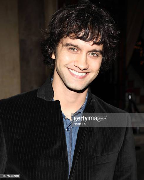 Michael Steger attends 9021HO HO HO Toy Drive benefiting Toys for Tots on December 11 2010 in Los Angeles California