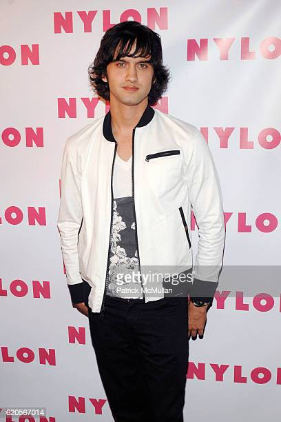 Michael Steger attends NYLON magazine television launch party at Tropicana Bar of the Roosevelt Hotel on September 4 2008 in Hollywood California