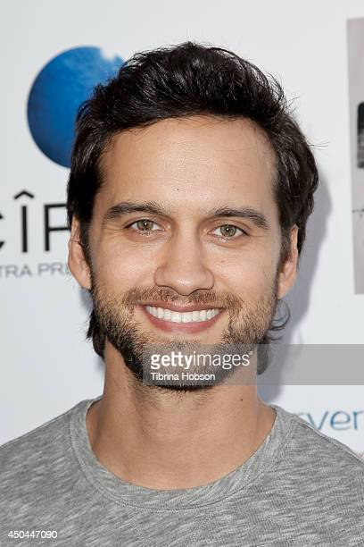 Michael Steger attends the screening of AnnaLynne McCord's 'I Choose' at Harmony Gold Theatre on June 10 2014 in Los Angeles California