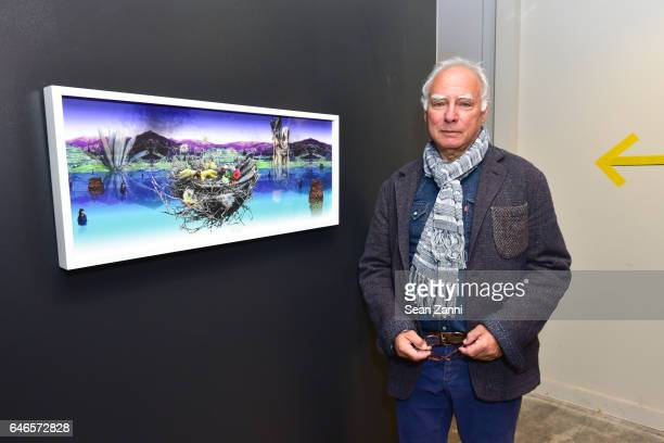 Michael Steinberg attends Spring Break Art Fair 2017 Vernissage at 4 Times Square on February 28 2017 in New York City