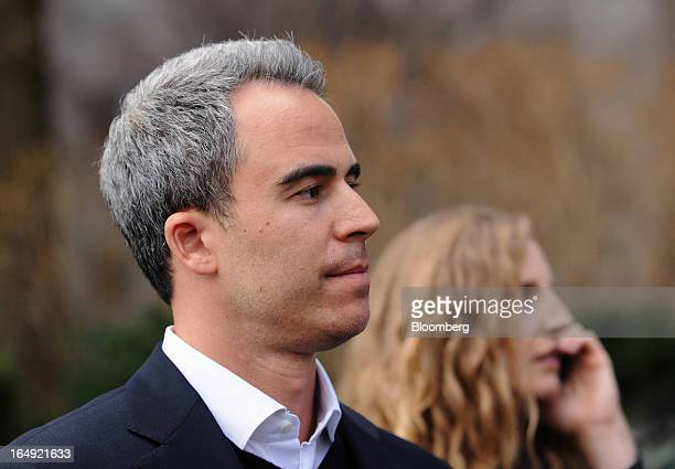 Michael Steinberg SAC Capital Advisors LP fund manager who worked at SAC's Sigma Capital Management unit exits federal court in New York US on Friday...