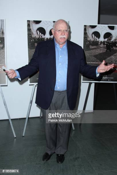 Michael Steinhardt attends New York Premiere of Oscilloscope Laboratories A FILM UNFINISHED at The Museum of Modern Art on August 11 2010 in New York...