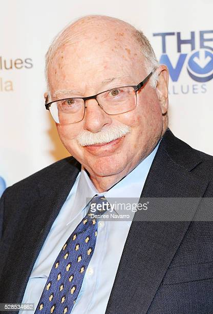 Michael Steinhardt attends the 4th Annual Champions Of Jewish Values International Awards Gala at Marriott Marquis Broadway Ballroom on May 5 2016 in...