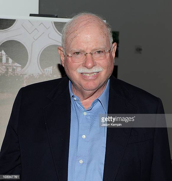 Michael Steinhardt attends the premiere of A Film Unfinished at MOMA Celeste Bartos Theater on August 11 2010 in New York City