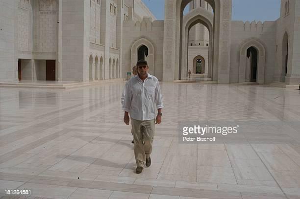 Michael Steinke Dreharbeiten der ZDFReihe Traumschiff Folge 49 Oman Muscat/Oman/Arabien Grosse Moschee von Sultan Qaboos Golf von Oman Arabischer...
