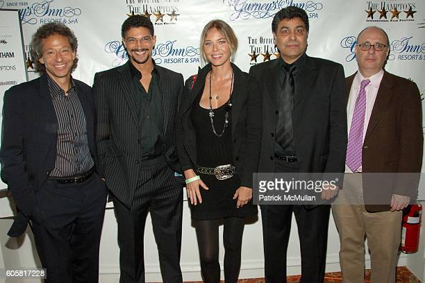 Michael Sternberg Mido Hamada Connie Nielsen Said Amadis and Phillip Haas attend 14th Annual Hamptons International Film Festival Opening Night Party...