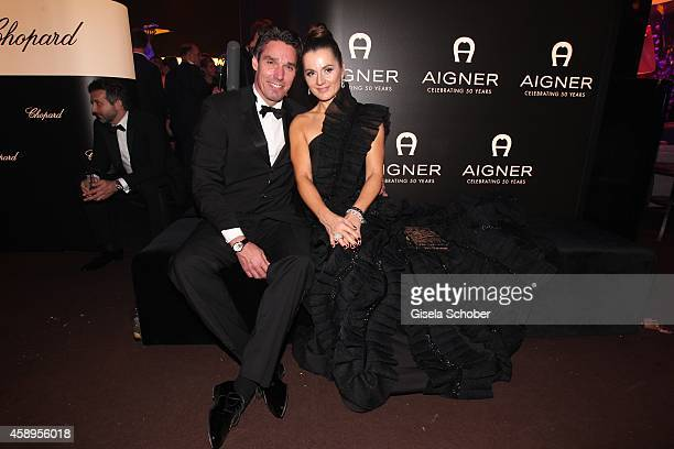 Michael Stich and his wife Alexandra during the Bambi Awards 2013 after show party on November 13 2014 in Berlin Germany