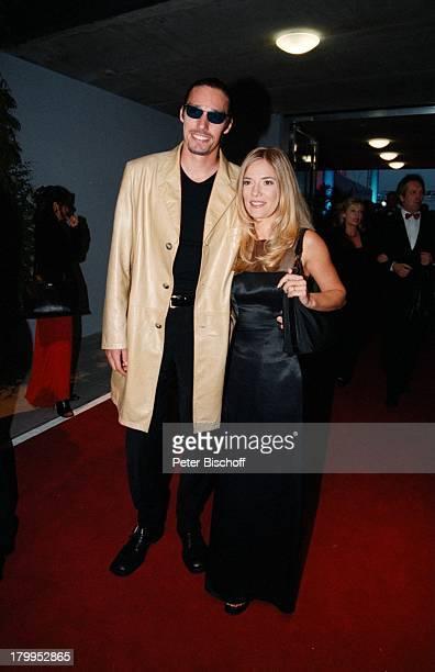 Michael Stich Ehefrau JessicaStockmannStich DeutscheFernsehpreisVerleihung 99 Köln