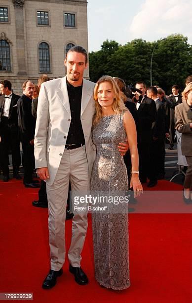Michael Stich Ehefrau JessicaStockmannStich Die Nacht derStarsDeutscher Filmpreis 99VerleihungBerlin Staatsoper Unter den Linden