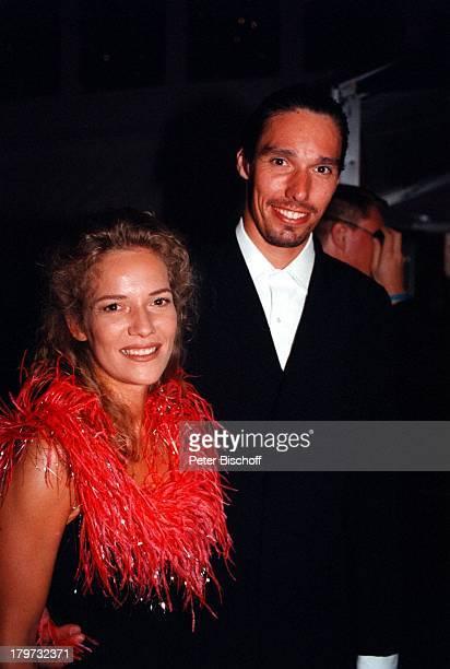 Michael Stich mit Ehefrau Jessica StockmannStich ARDDie Nacht der Stars Verleihung vom Deutschen Bundesfilmpreis
