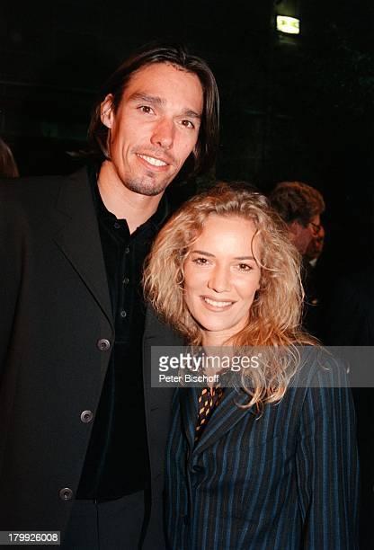 Michael Stich mit Ehefrau JessicaStockmannStich UFAMedientreffBabelsberg
