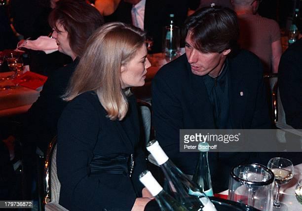 Michael Stich mit Ehefrau JessicaStockmannStich TelestarVerleihung 97Köln