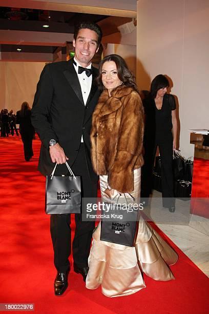 Michael Stich Und Ehefrau Alexandra Bei Der Charity Gala Und Weltpremiere Der Montblanc Prinz Rainier Iii Limited Edition 81 Hommage An Fürst Rainier...