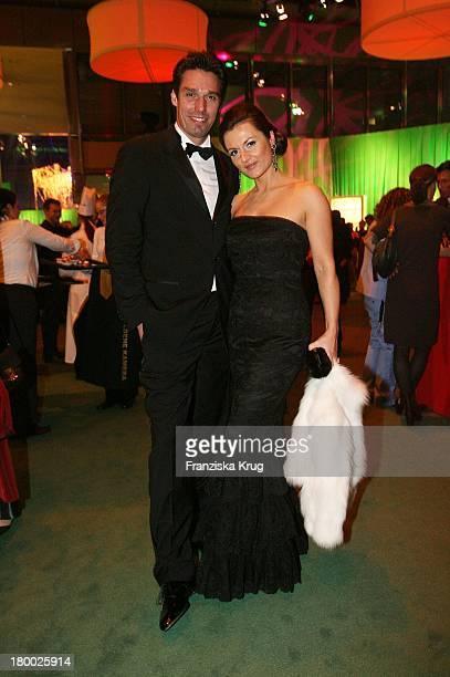 Michael Stich Und Seine Ehefrau Alexandra Bei Der Aftershowparty Nach Der 42 Verleihung Der 'Goldenen Kamera' In Berlin