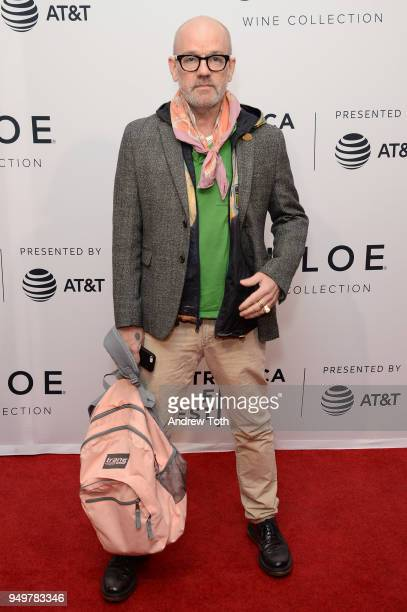 Michael Stipe attends a screening of State Like Sleep during the 2018 Tribeca Film Festival at SVA Theatre on April 21 2018 in New York City