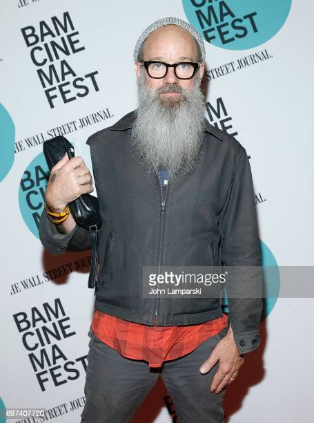 "Michael Stipe attends ""En El Septimo Dia"" centerpiece screening during BAMcinemaFest 2017 at BAM Harvey Theater on June 18, 2017 in New York City."