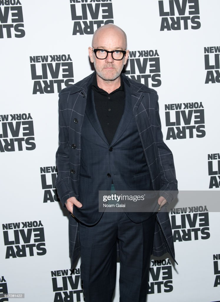 Michael Stipe attends the 2018 New York Live Arts Gala at Irving Plaza on April 16, 2018 in New York City.