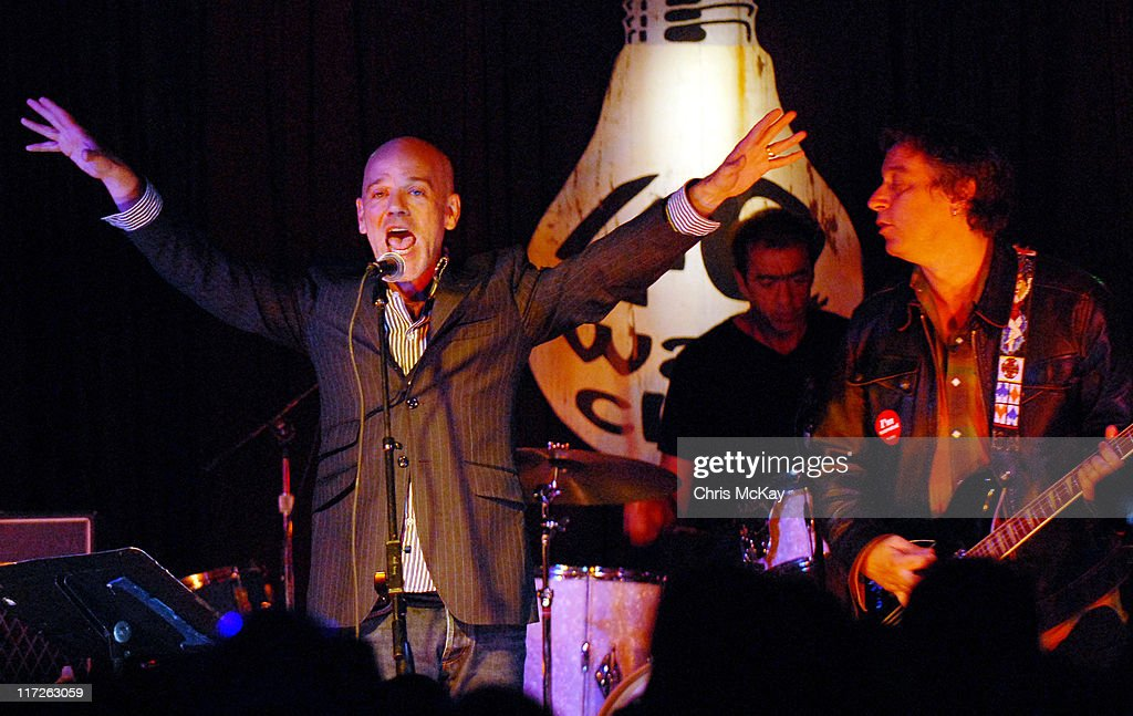 R.E.M.'s Original Lineup Performs at the 40 Watt Club - September 12, 2006