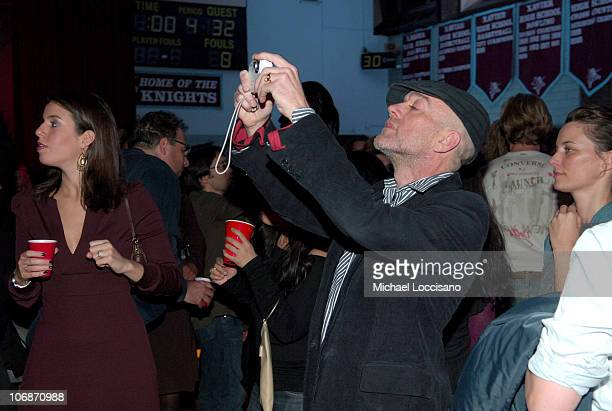 Michael Stipe during Converse and John Varvatos Launch New Menswear and Womenswear Collections with Performance by the New York Dolls at Xavier High...