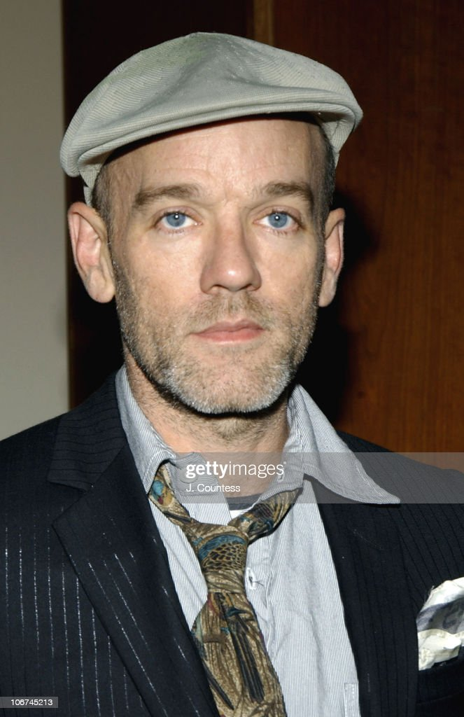 Michael Stipe during Food Bank of New York City Gala Awards Dinner Hosted By Frances McDormand - Arrivals at Pier Sixty at Chelsea Piers in New York City, New York, United States.