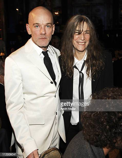 Michael Stipe of REM and Patti Smith inductees *EXCLUSIVE*