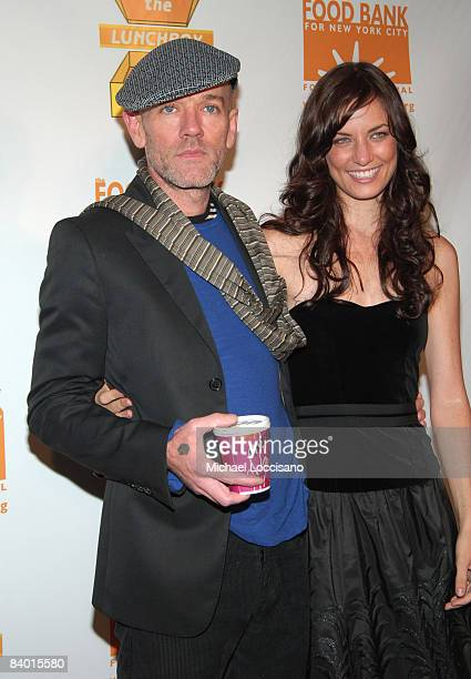 Michael Stipe of REM and Topaz PaigeGreen The Lunchbox Foundation Founder