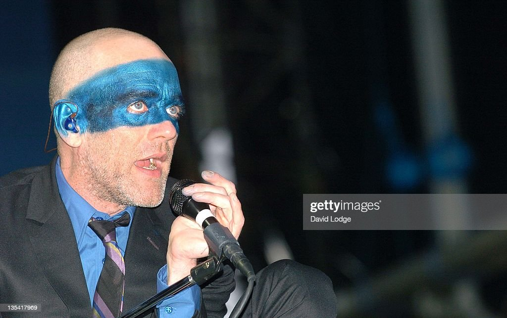 Michael Stipe of R.E.M. during 2005 Isle Of Wight Festival - Day 3 - Show at Seaclose Park in Newport, Great Britain.