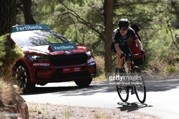 Michael Storer of Australia and Team DSM attacks in the breakaway during the 76th Tour of Spain 2021, Stage 7 a 152km stage from Gandía to Balcón de...