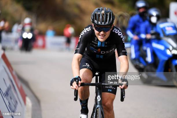 Michael Storer of Australia and Team DSM attacks in the final climb Puerto de Almáchar during the 76th Tour of Spain 2021, Stage 10 a 189km stage...