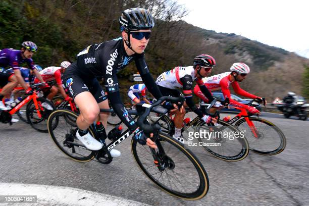 Michael Storer of Australia and Team DSM during the 53rd Tour Des Alpes Maritimes Et Du Var, Stage 1 a 186,8km stage from Biot to Gourdon 698m /...