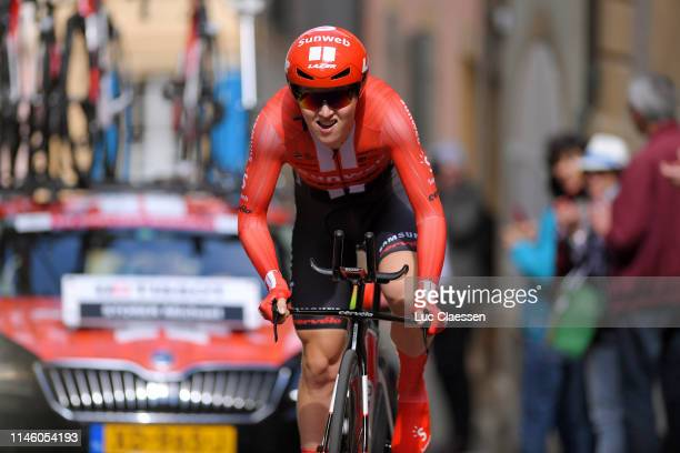 Michael Storer of Australia and Team Sunweb / during the 73rd Tour de Romandie 2019, Prologue a 3,87km Individual Time Trial from Neuchâtel to...